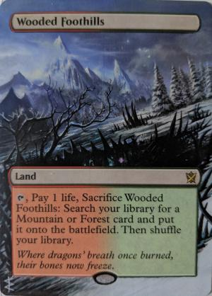 Wooded Foothills alter #