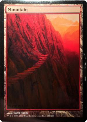Mountain (A) alter #