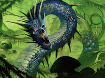 Golgari Rotwurm