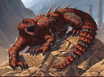 Thresher Lizard