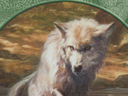 Wolf Token (017)