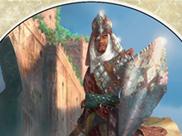 Warrior Token (Sword & Shield)