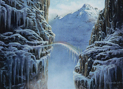 Betrayers of Kamigawa Magic//mtg Tendo Ice Bridge Rare