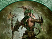 Elf Warrior Token