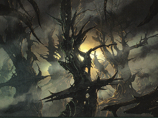 Forest - Scars of Mirrodin Cycle