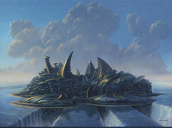 Island - Shards of Alara Cycle