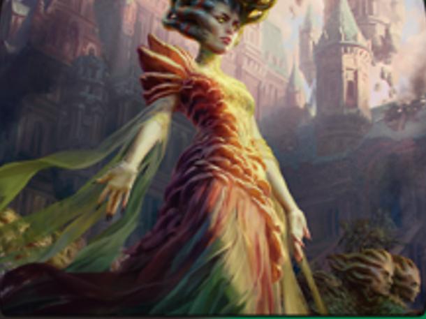 War of The Spark Magic: The Gathering Vraska Swarms Eminence