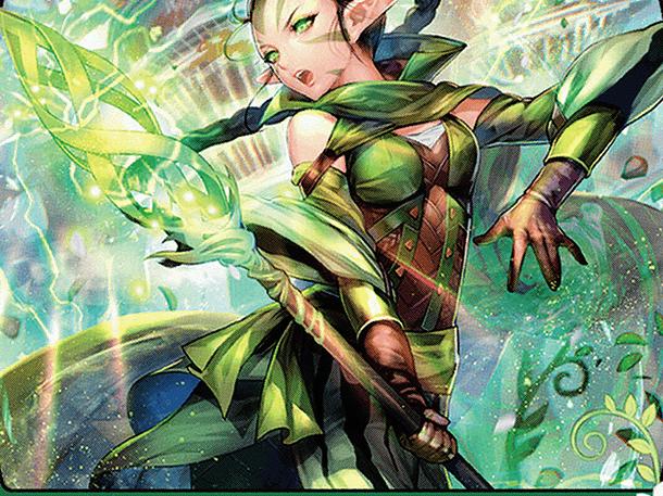 Nissa, Who Shakes the World (JP Alternate Art)