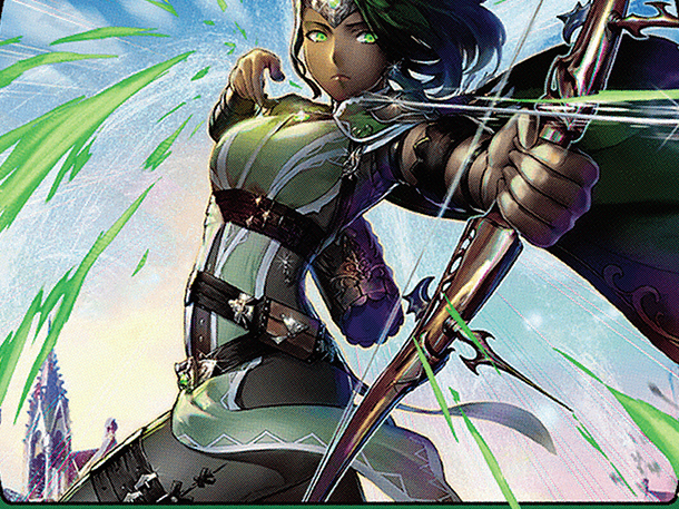 Vivien, Champion of the Wilds (JP Alternate Art)