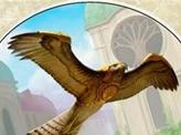 Bird (003) // Emblem - Serra the Benevolent (020) Double-sided Token