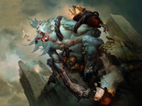 Feasting Troll King (Extended Art)