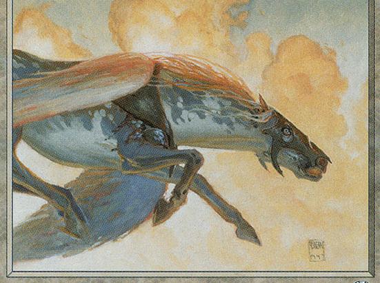 Armored Pegasus (Reminder Text)