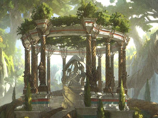 Temple of Plenty (Extended Art)
