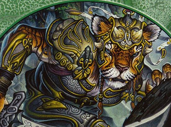 Cat Warrior (008) // Rat (003) Double-sided Token