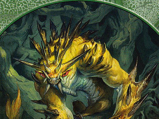 Beast // Ogre Double-sided Token