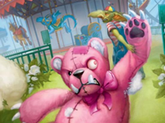 Giant Teddy Bear // Acorn Stash Double-sided Token