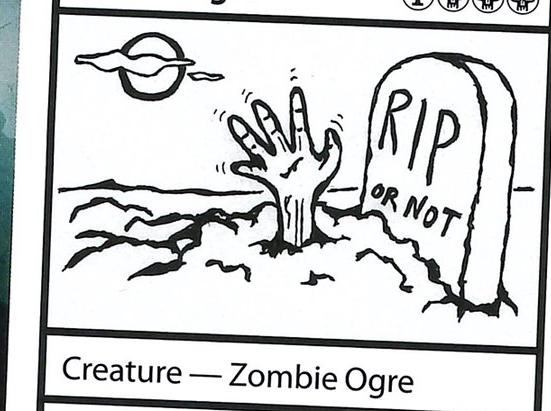 Buried Ogre
