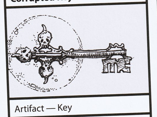 Corrupted Key