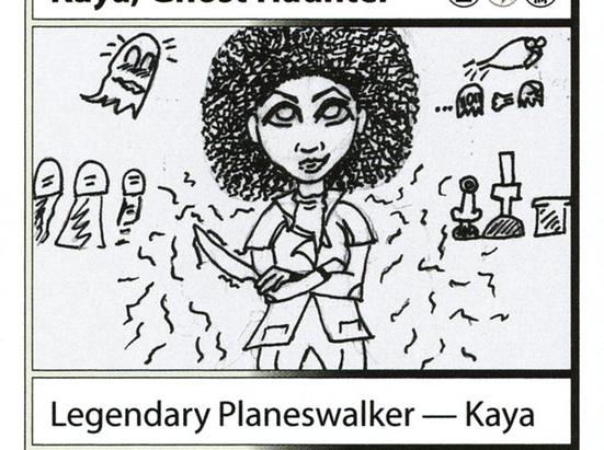 Kaya, Ghost Haunter