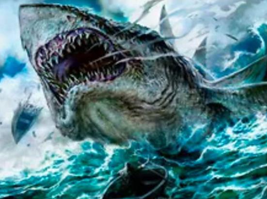 Voracious Greatshark (Extended Art)