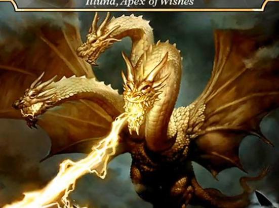 Ghidorah, King of the Cosmos - Illuna, Apex of Wishes