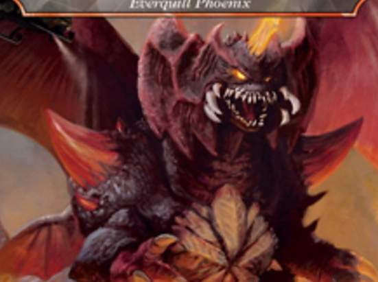 Destoroyah, Perfect Lifeform - Everquill Phoenix