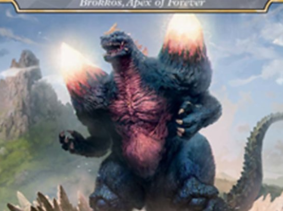 Bio-Quartz Spacegodzilla - Brokkos, Apex of Forever