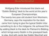 2003 Wolfgang Eder Biography Card