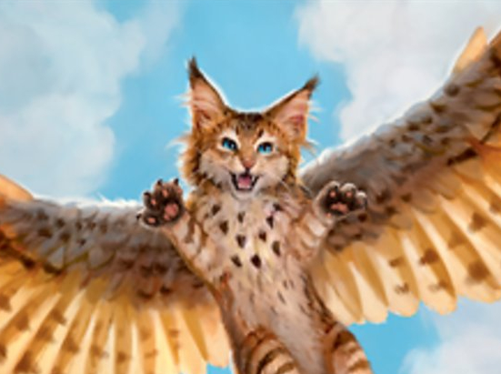Cat Bird // Human Soldier (005) Double-sided Token