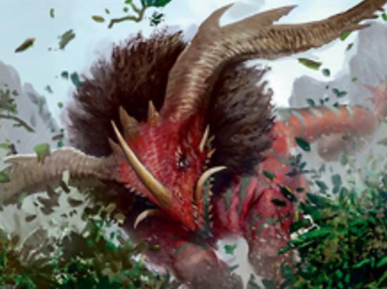 Dinosaur Beast // Human Soldier (003) Double-sided Token