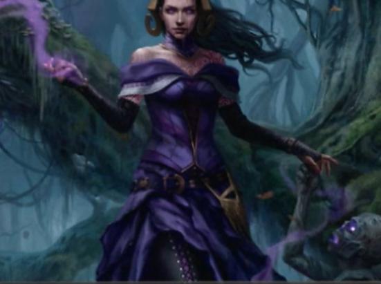 Liliana, Waker of the Dead (Borderless)