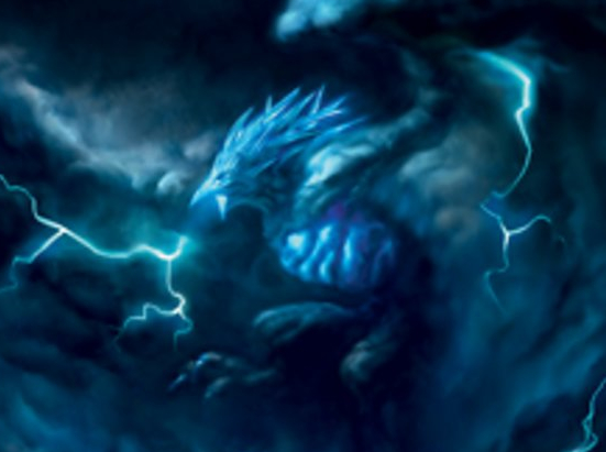 Stormwing Entity (Extended Art)