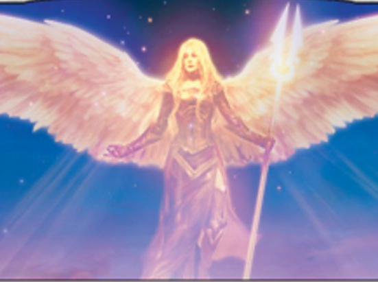 Avacyn, Angel of Hope (Borderless)