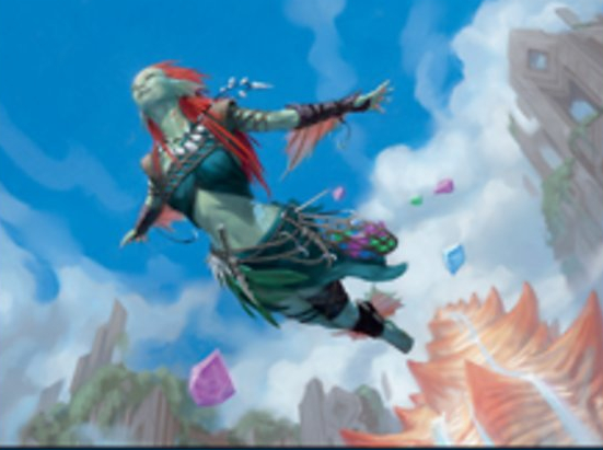Thieving Skydiver