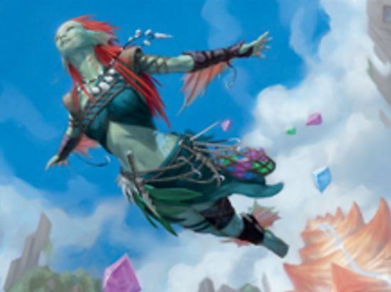 Thieving Skydiver (Extended Art)