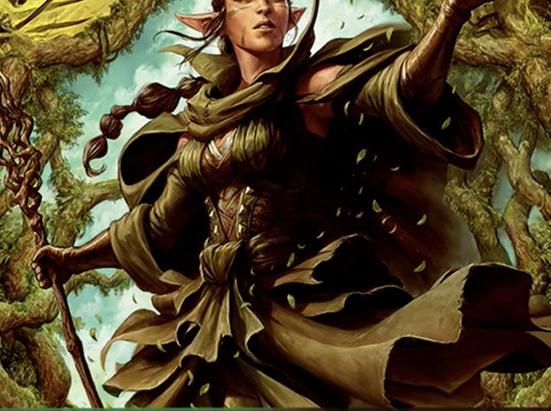 Nissa of Shadowed Boughs (Borderless)