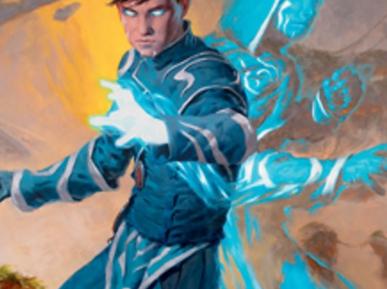 Jace, Mirror Mage Art Card (1/81) (Gold-Stamped Signature)