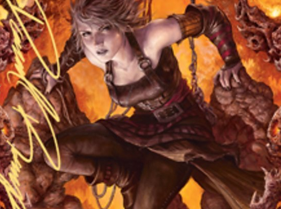 Nahiri, Heir of the Ancients 2 Art Card (Gold-Stamped Signature)