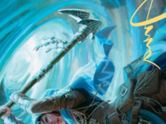 Sea Gate Stormcaller Art Card (Gold-Stamped Signature)