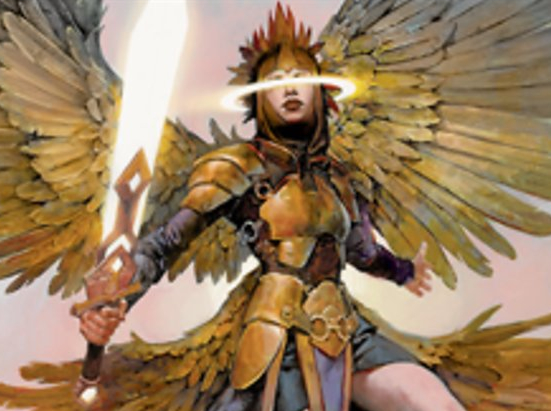 Angel Warrior // Construct Double-sided Token