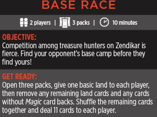 Magic Minigame: Base Race