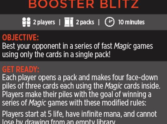 Magic Minigame: Booster Blitz