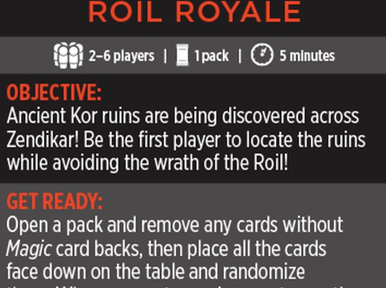 Magic Minigame: Roil Royale