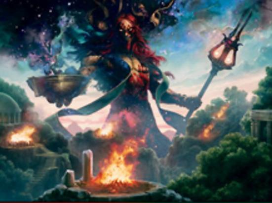 Xenagos, God of Revels (Foil Etched)