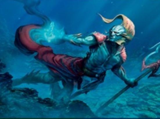 Thrasios, Triton Hero (Foil Etched)