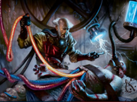 Ludevic, Necro-Alchemist (Foil Etched)