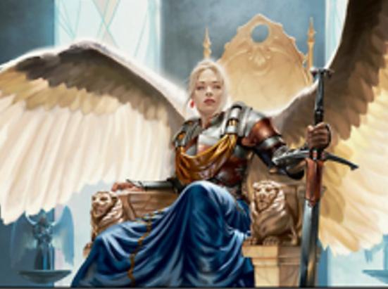 Radiant, Serra Archangel (Foil Etched)