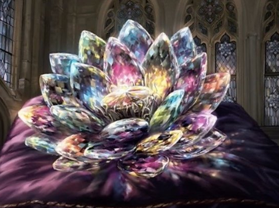 Jeweled Lotus (Extended Art)