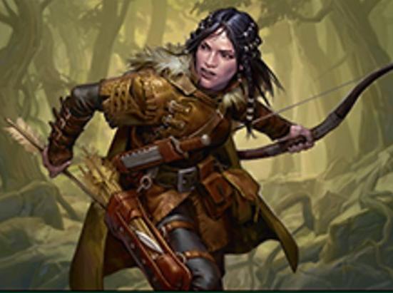 Halana, Kessig Ranger (Foil Etched)