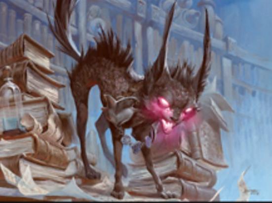 Falthis, Shadowcat Familiar (Foil Etched)